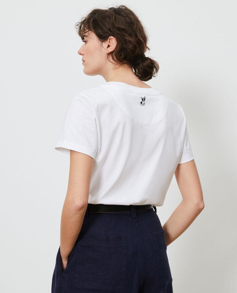 T-shirt en coton Brilliant white Nyer
