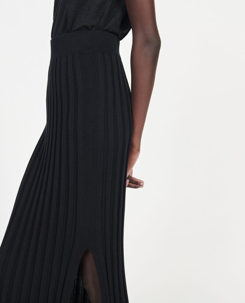Jupe en coton Black beauty Losse