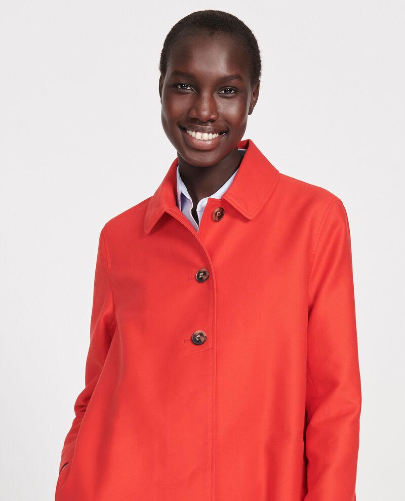 Manteau d'été en coton Fiery red Loyale