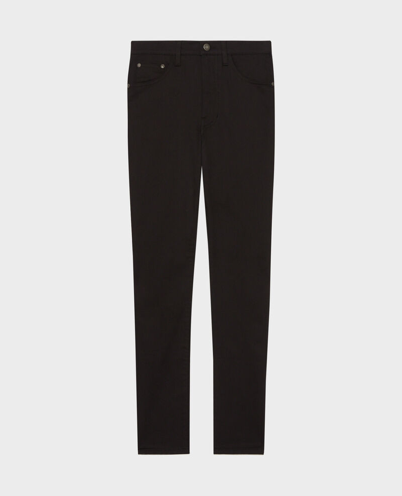 DANI - SKINNY - Jean 5 poches Black beauty Mozakiny