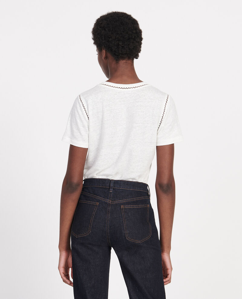 T-shirt en lin jersey  Gardenia Lye