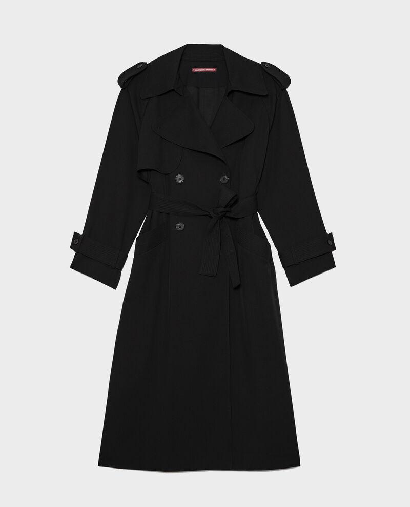 Fashion oversized trench Black beauty Laiko