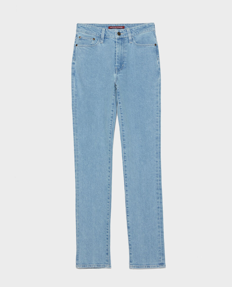 SLIM HIGH RISE - Jean vintage wash Denim vintage wash Linxe