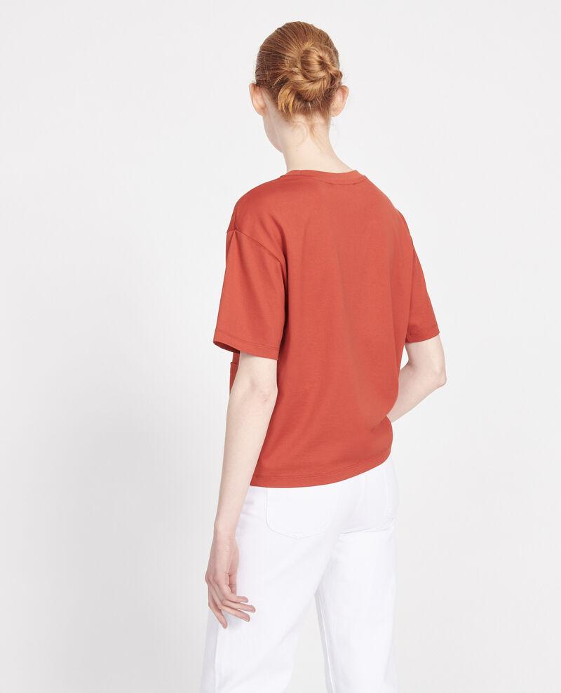T-Shirt boxy en coton mercerisé Ketchup Lexana