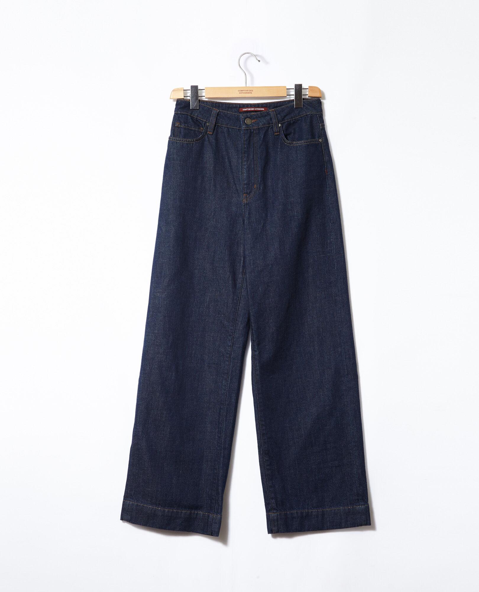 Des Jeans Glin Rinse Length Comptoir Full Femme Wide Couleur axZqPf8a