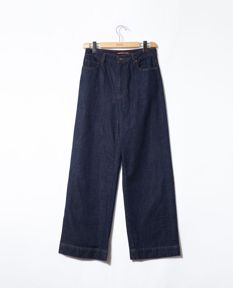 Jean wide full length Rinse Glin