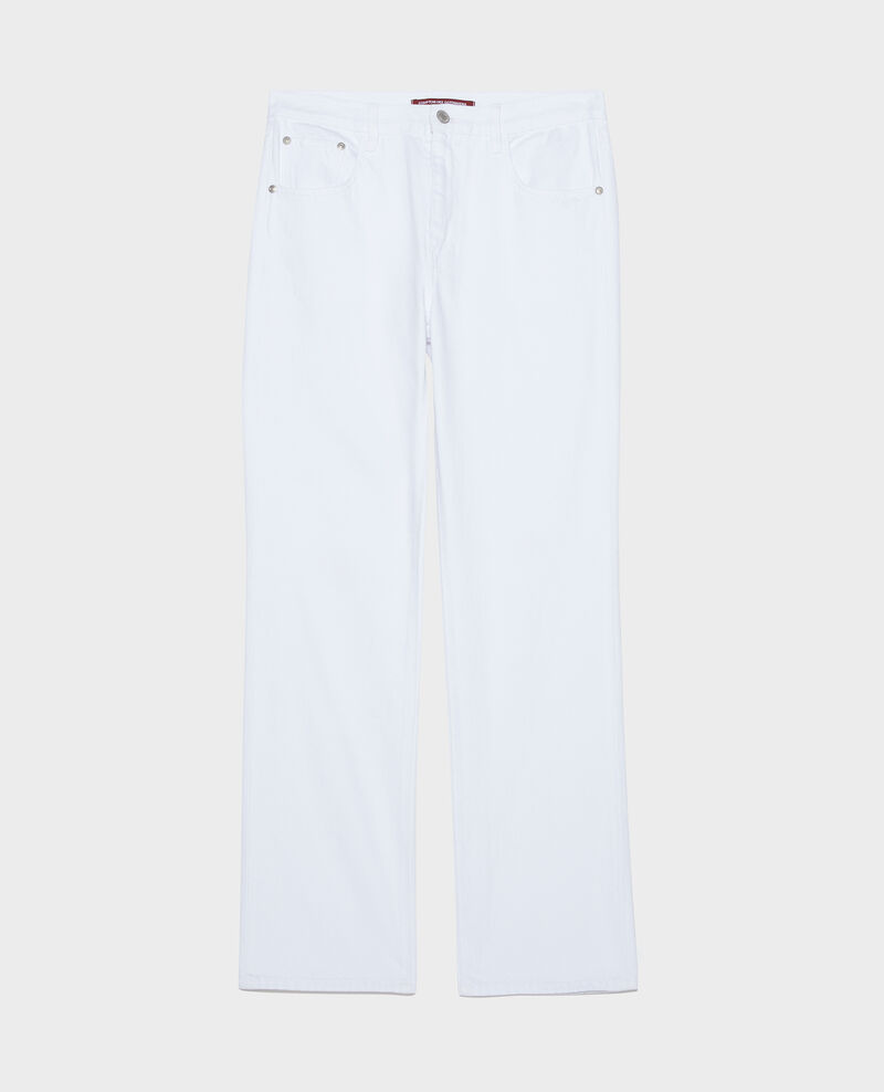 Jean droit Optical white Linny
