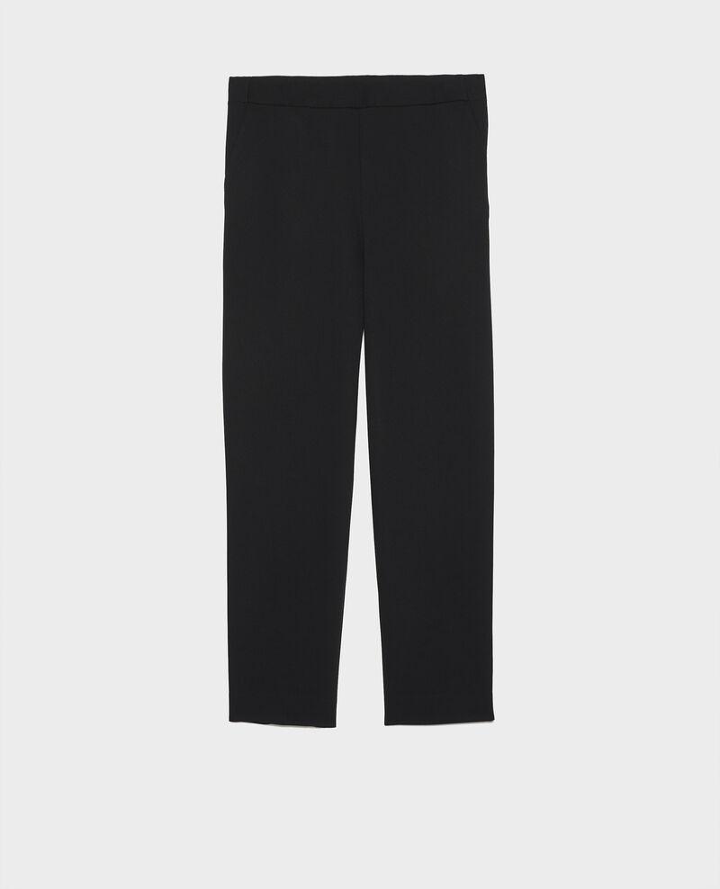 Pantalon fluide Black beauty Luant