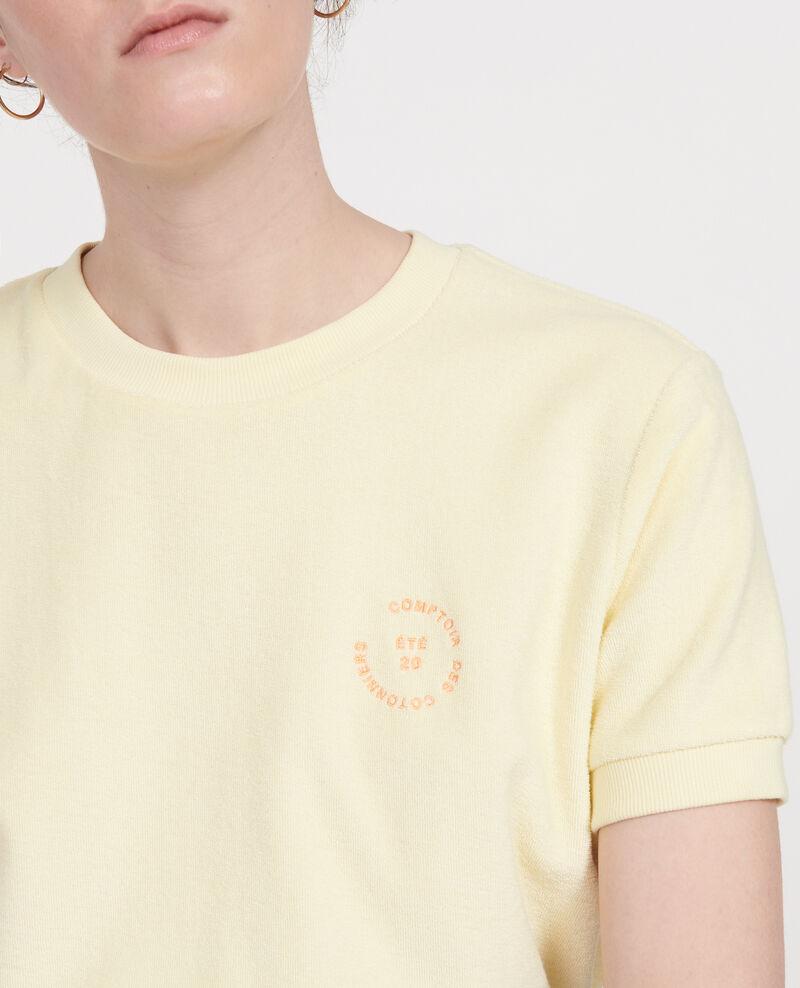 T-shirt en éponge  Tender yellow Lis