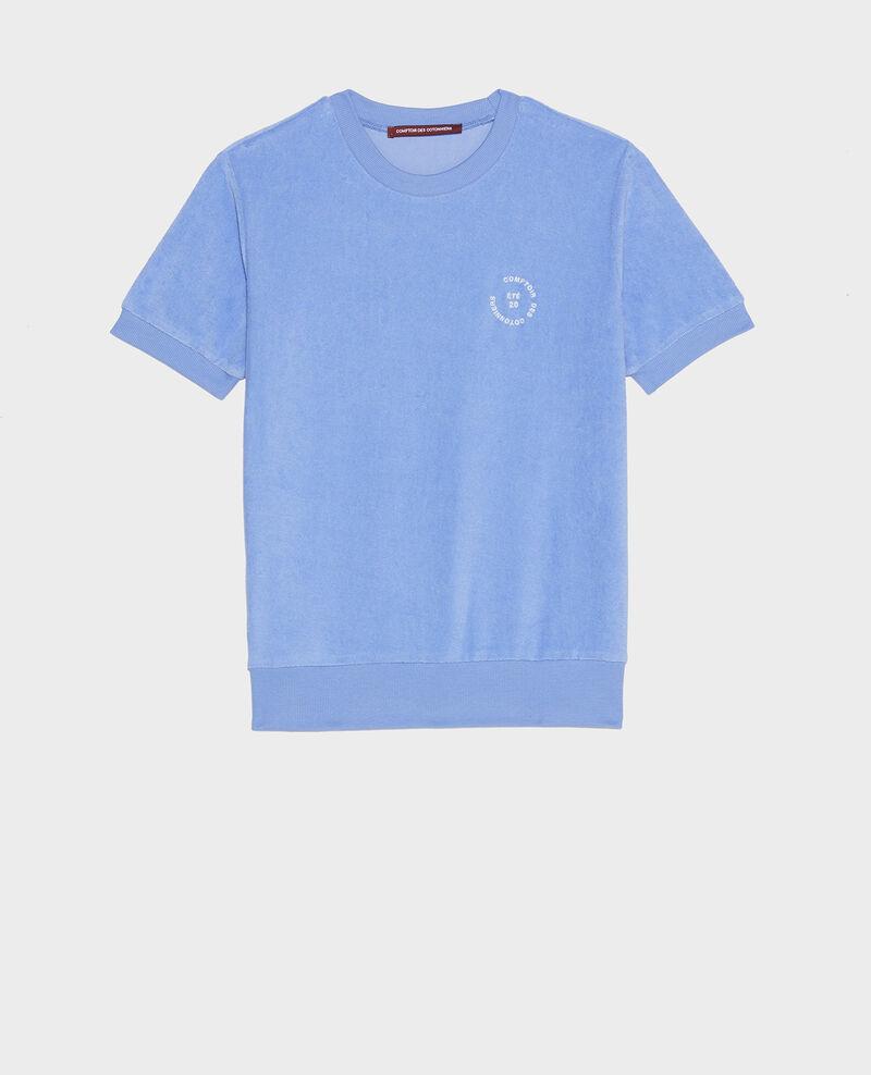 T-shirt en éponge 100% coton  Persian jewel Lis