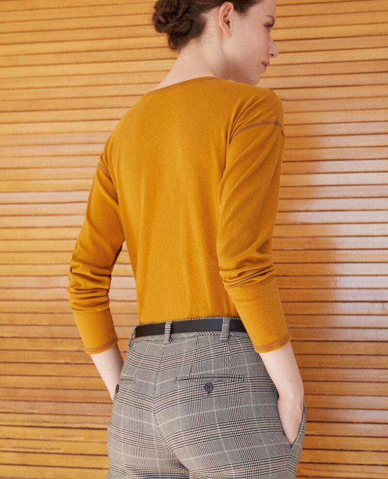T-shirt en coton Golden brown Gonia