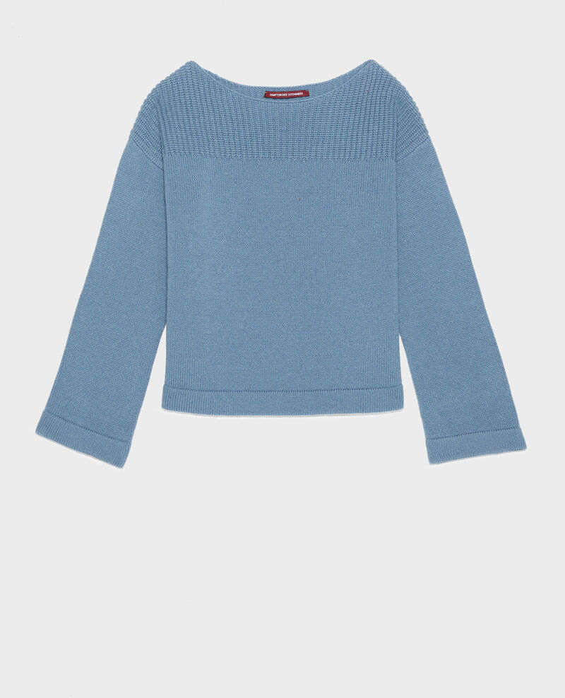 Pull en laine et cachemire Bluestone Lalane