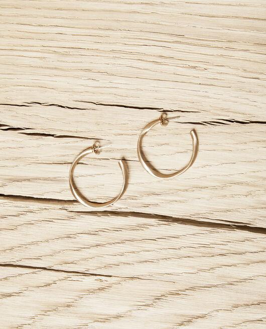 Boucles d'oreilles rondes irrégulières GOLD