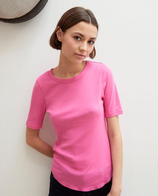 T-shirt côtelé WILD ORCHID