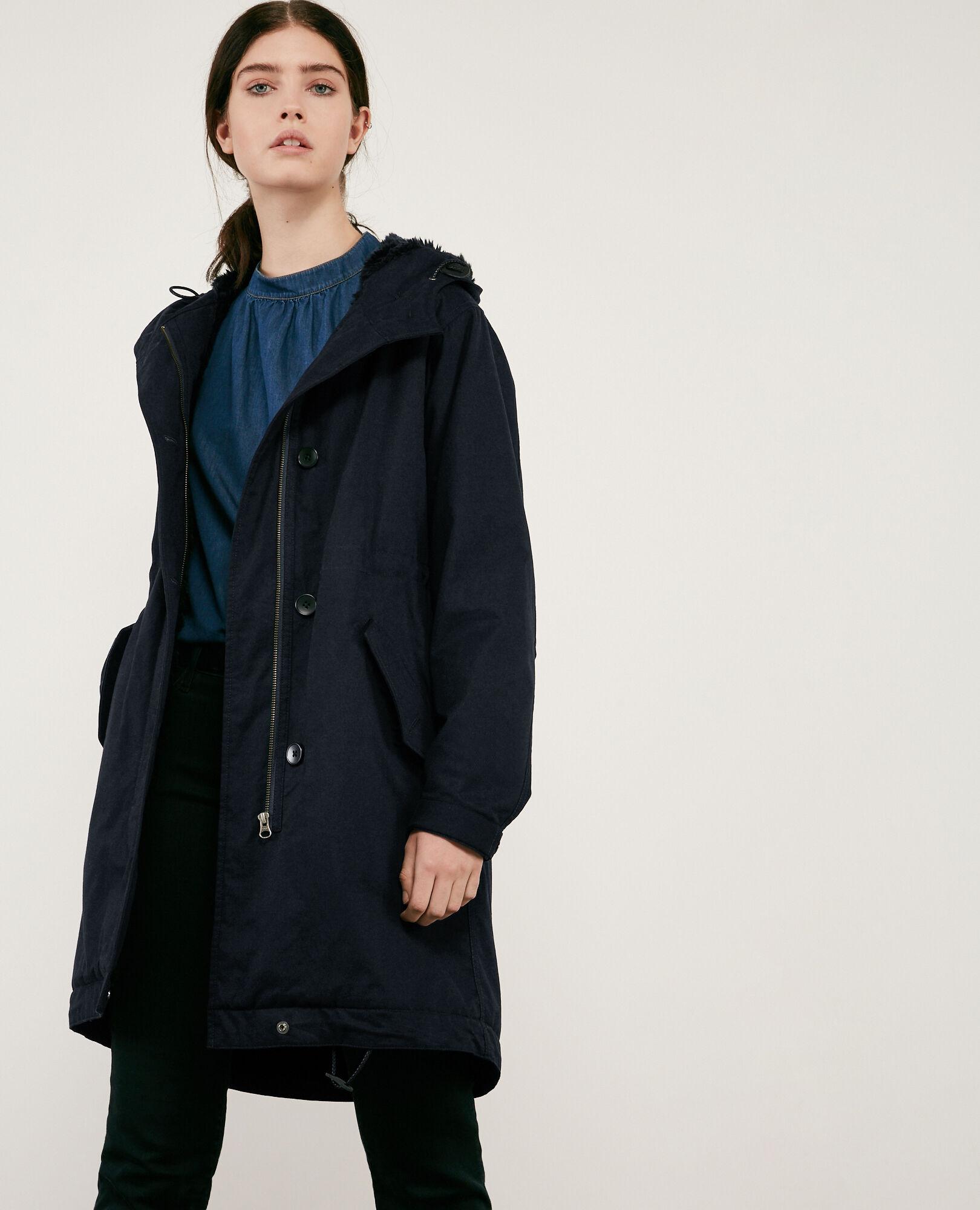 amp; Outlet Manteaux Vestes Femme Coton 34xs Des Taille Comptoir AEEqrwxd1