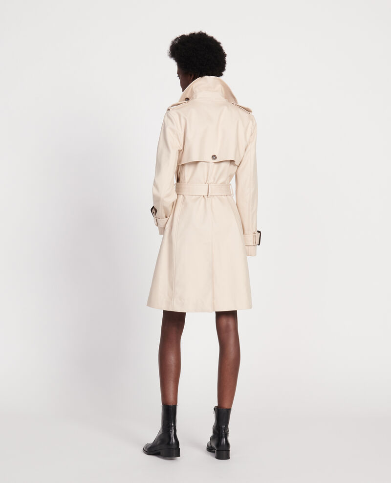 Trench iconique en coton Smoke gray Lambert