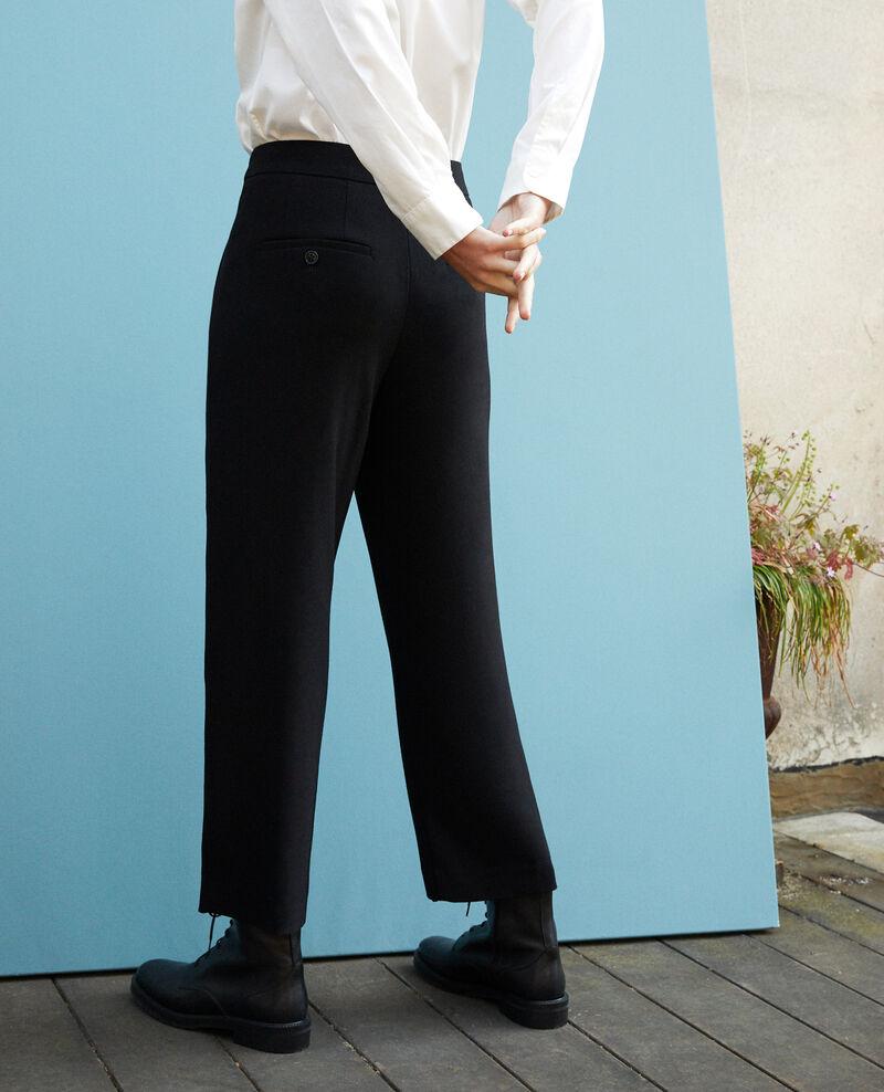 Pantalon coupe ample Noir Galerie
