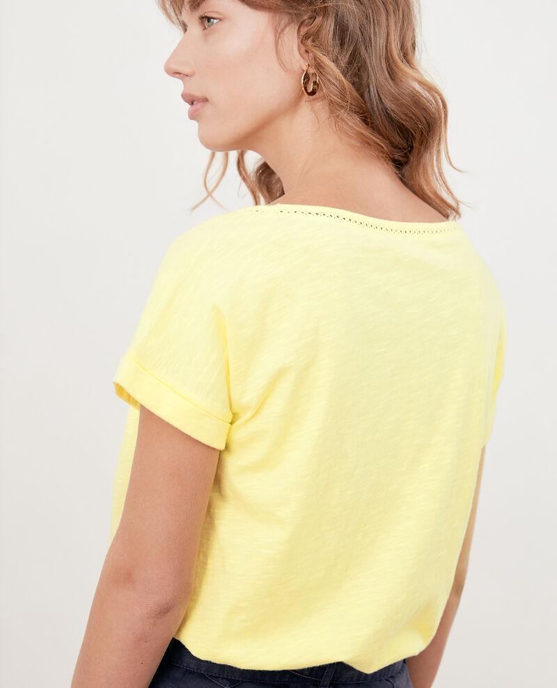 T-shirt avec galons Lemonade Fenouil