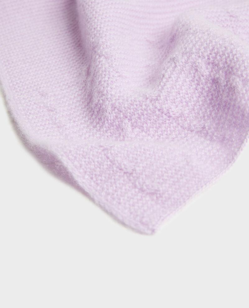 Écharpe en cachemire  Pastel lilac Minet