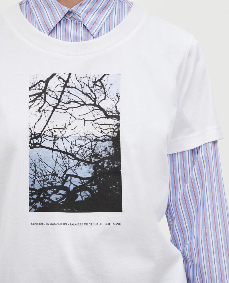 T-shirt en coton manches courtes Bretagne Magali