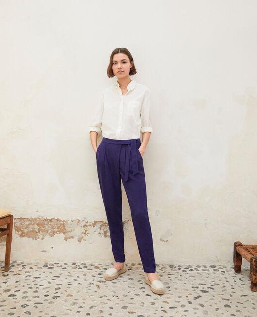 Pantalon de style sarouel INK NAVY