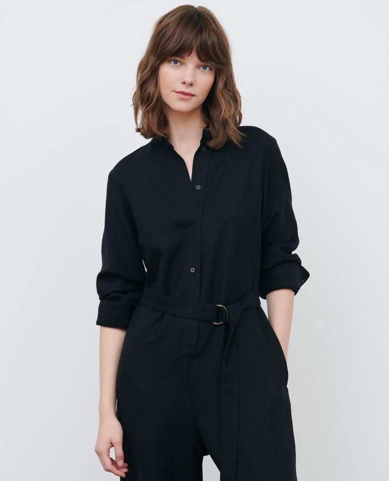 Combinaison pantalon en laine Black beauty Pampelune
