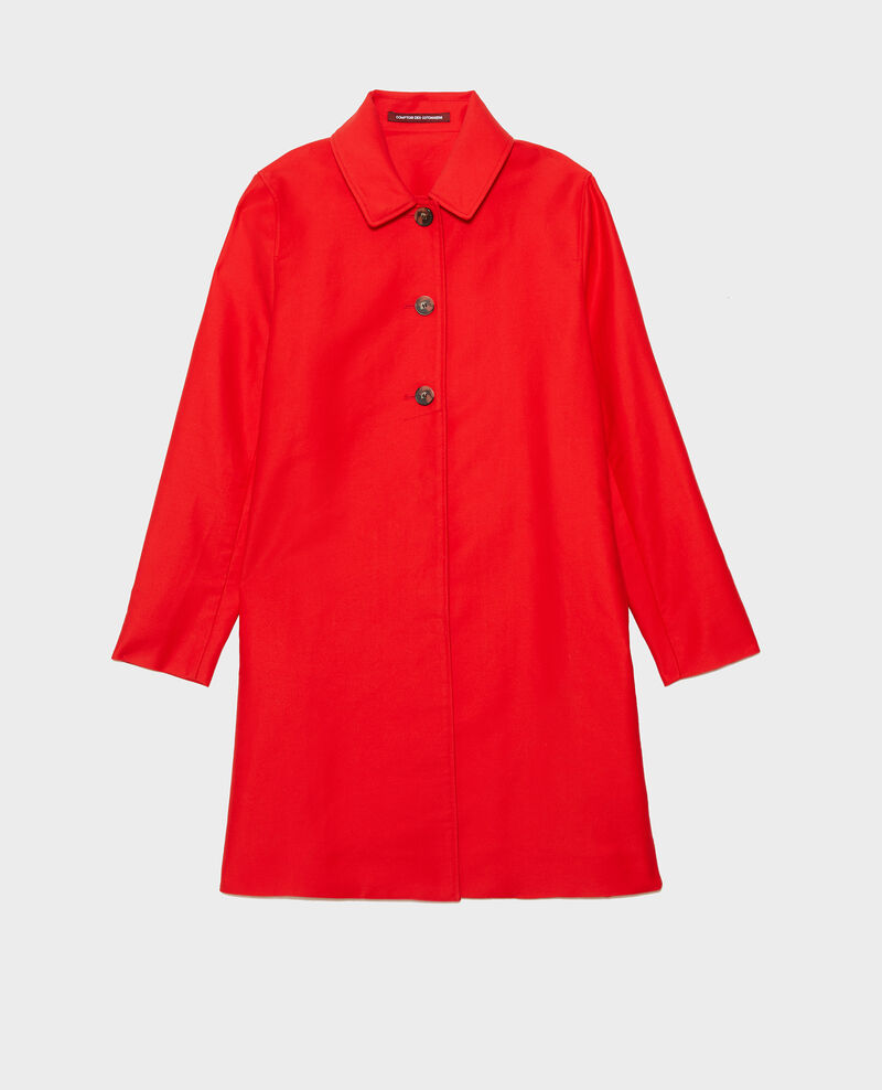 Manteau d'été en coton Fiery red Loyale