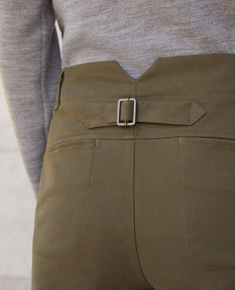 Pantalon chino Olive night Gabini