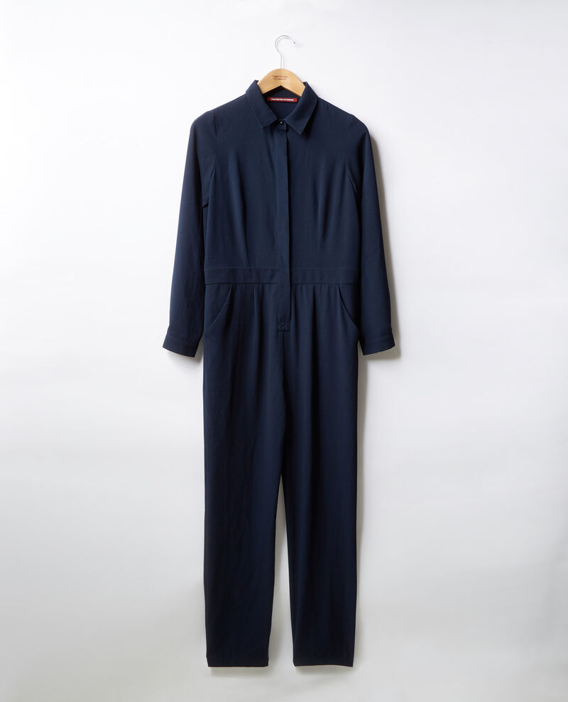 Combinaison chemise fluide Navy Divine