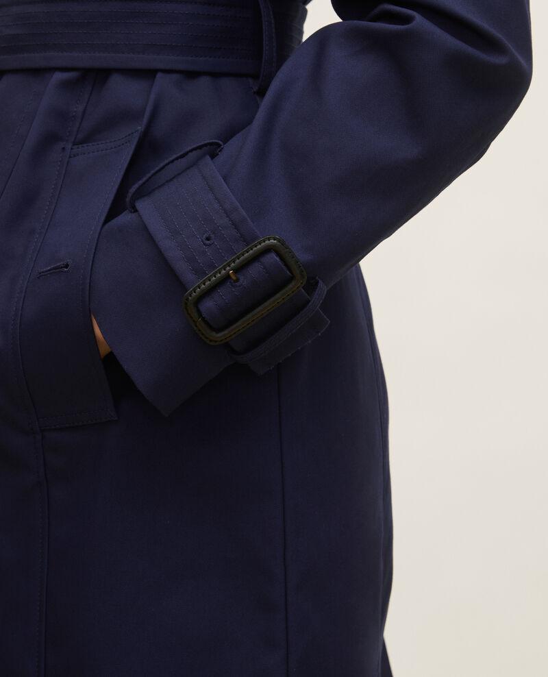 Trench iconique en coton Maritime blue Lambert