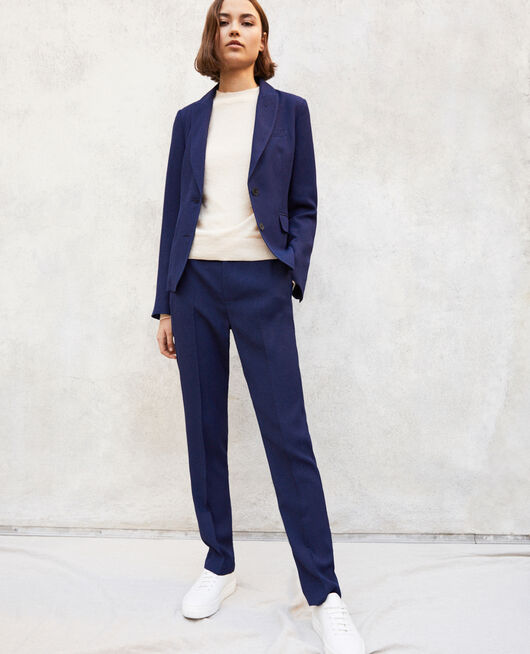 Pantalon coupe carotte INK NAVY