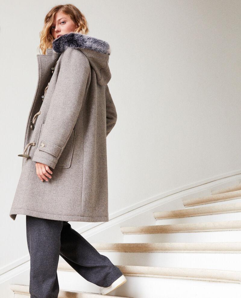 Manteau de style duffle-coat Grey/beige Juffle
