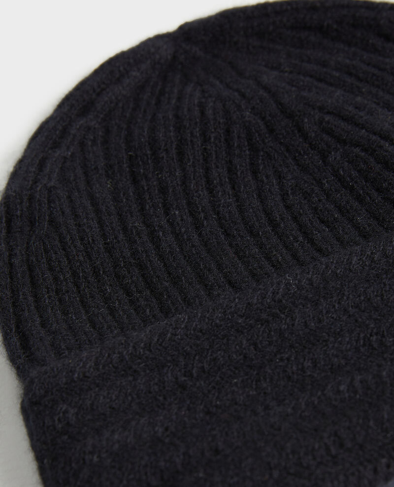 Bonnet en cachemire Black beauty Minzac