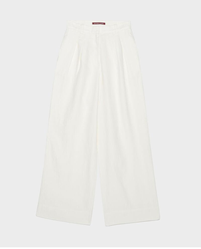 Pantalon large en lin Gardenia Lafare