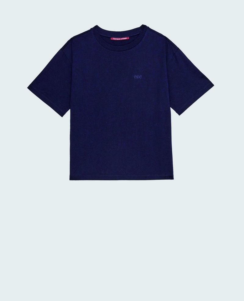 T-shirt en coton manches courtes ample Night sky Maincy