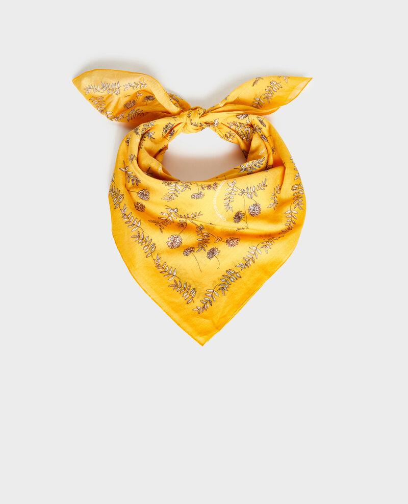 Bandana en coton imprimé Gold fusion Noronille
