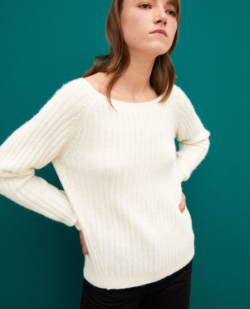 Pull réversible Off white Gerda