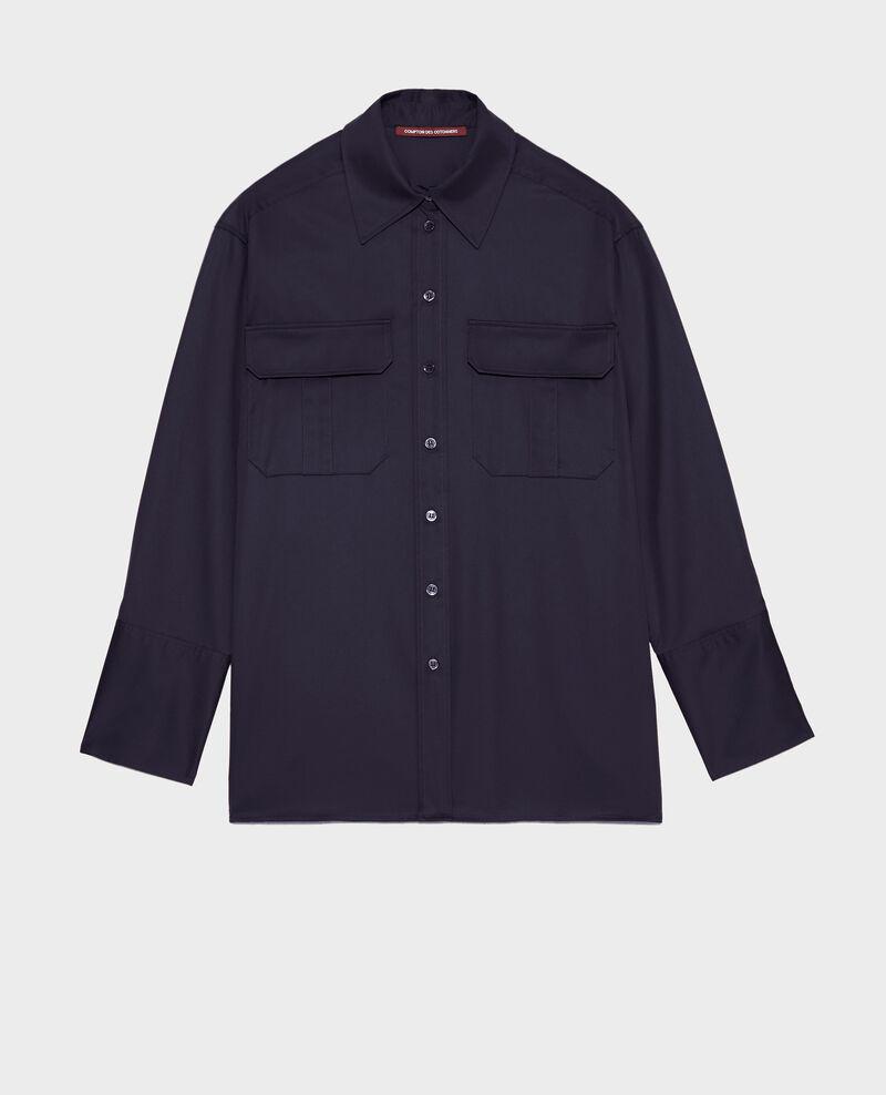 Chemise d'homme en coton oversize Night sky Mauryl
