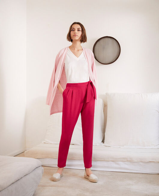 Pantalon de style sarouel FUSHIA