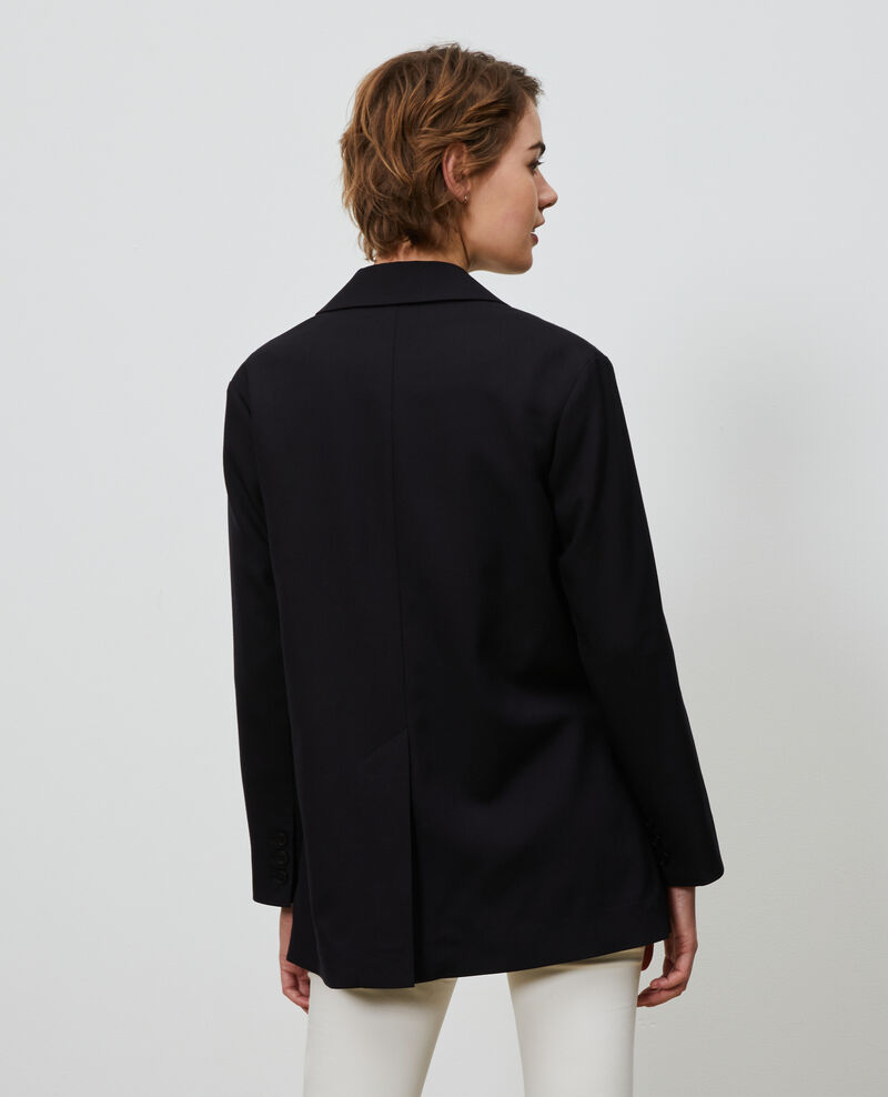 Blazer d'homme en laine Black beauty Nably