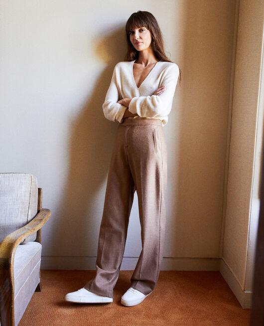Pantalon tailoring avec de la laine CAMEL