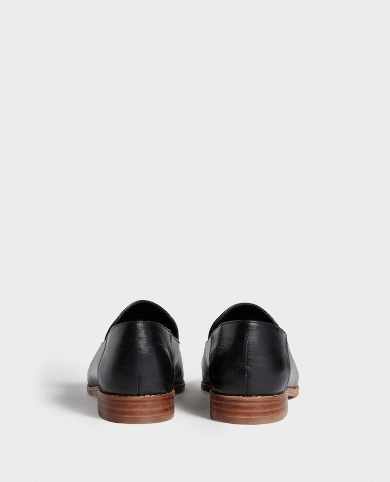 Mocassins en cuir Black beauty Legitime