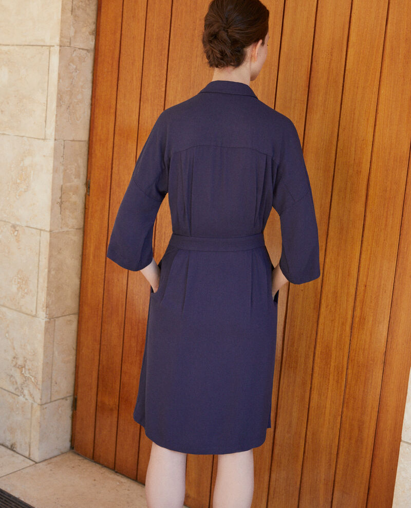 Robe portefeuille Peacoat Guichard