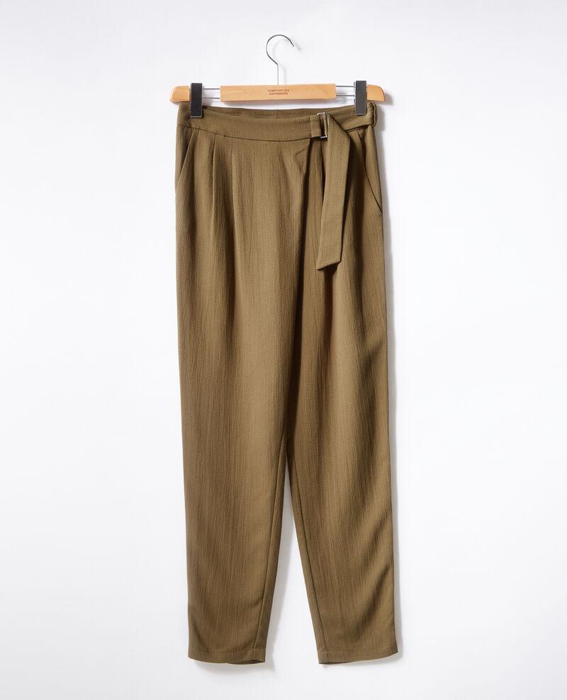 40c644c6f6 Pantalon style sarouel Kaki