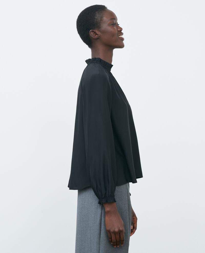 Blouse en soie Black beauty Pachat