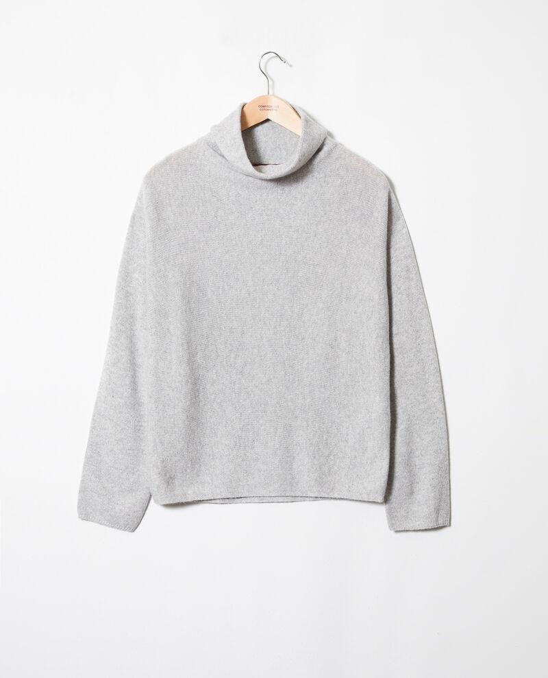 Pull 100% cachemire Light grey Jinette