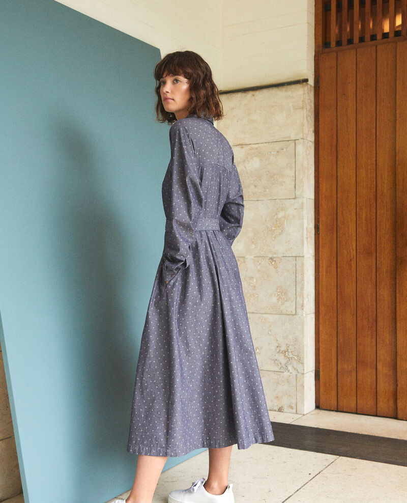 Robe mi-longue Wp peacoat Goze
