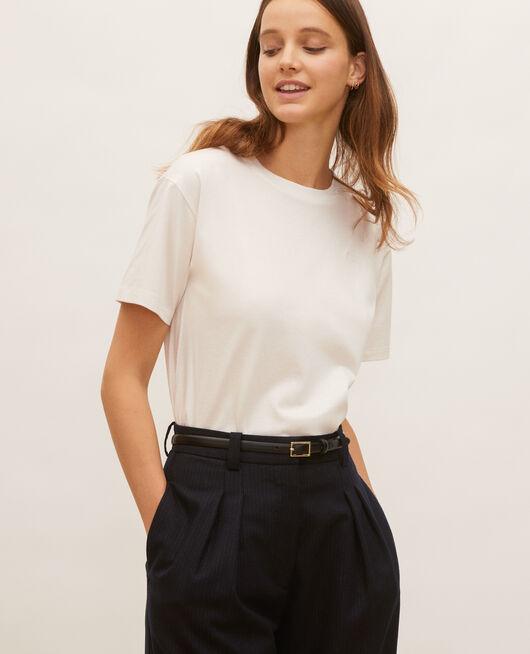 T-shirt en coton manches courtes ample JET STREAM