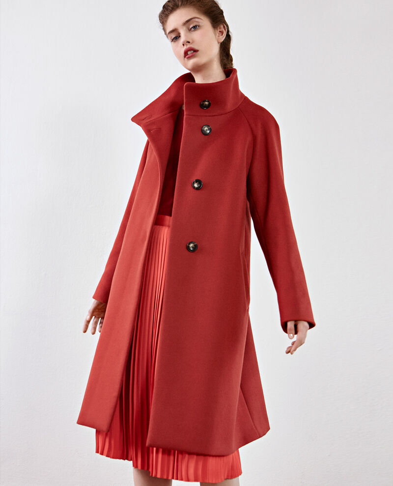 Manteau en laine Rust Dyera