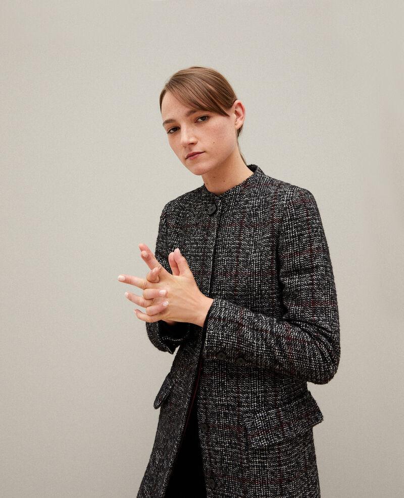 Manteau coupe droite Noir Guislain